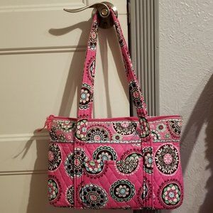 Retired Vera Bradley Cupcakes Pink Tote Purse
